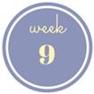 9 weken zwanger
