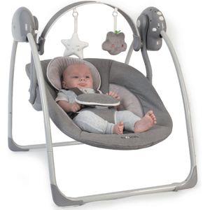 Een schommelstoel gebruikt geen wip maar schommel beweging om in motie te blijven