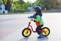 Een loopfiets is een speelse manier om de motoriek van je kind te helpen ontwikkelen.
