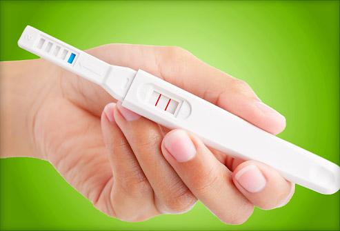 handmatige zwangerschapstest