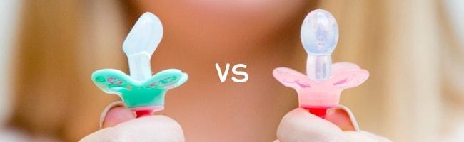 Welke soort fopspenen zijn er om tussen te kiezen?