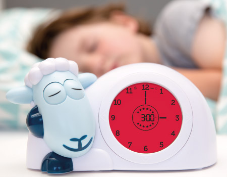 slaaptrainer met figuurtje